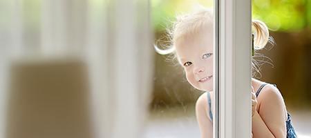 Sicherheit für dänische Fenster