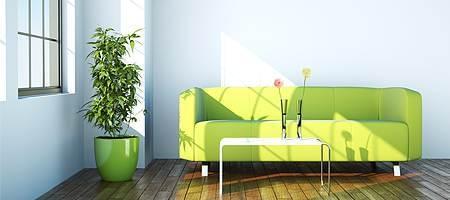 Energieeffiziente Wohnzimmerfenster