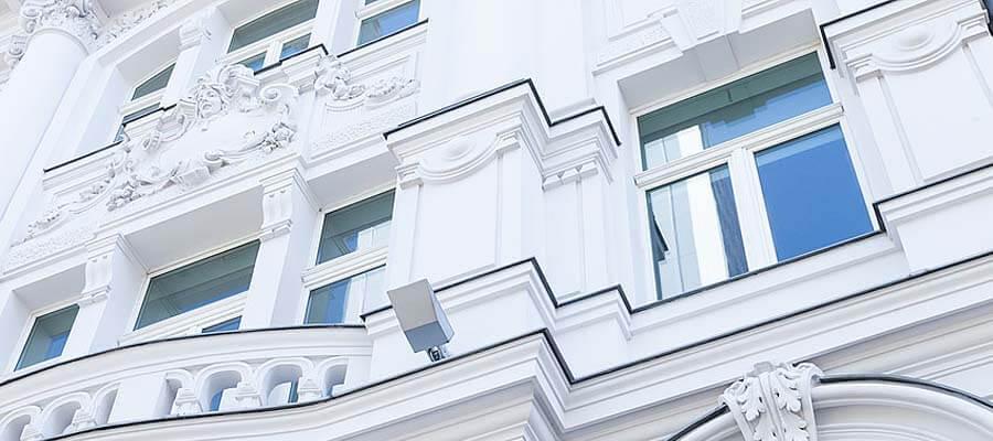 Fenster mit 2 Flügeln und Oberlicht