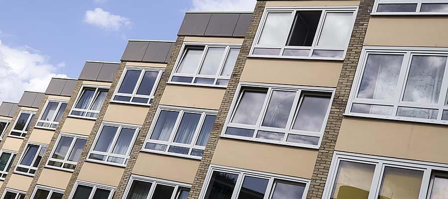 Fenster mit Unterlicht