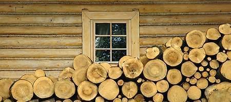 Blendrahmenfenster aus Holz
