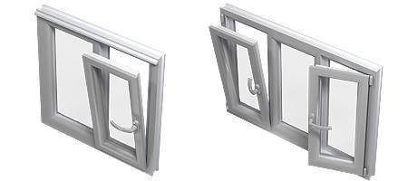 Einfache Bedienung von Drehkipp Fenster
