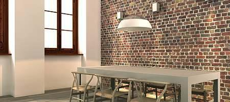 Küchenfenster mit Sprossen