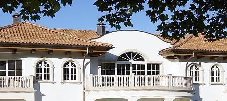 Moderne Maßwerkfenster