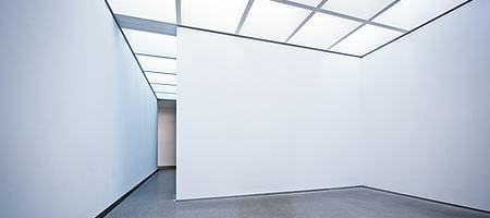 Raumbeleuchtung durch Oberlichtfenstern