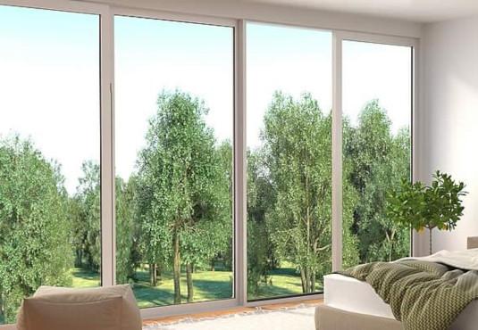 Schallschutzfenster im Schlafzimmer