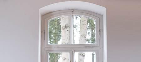 Segmentbogenfenster Rahmen