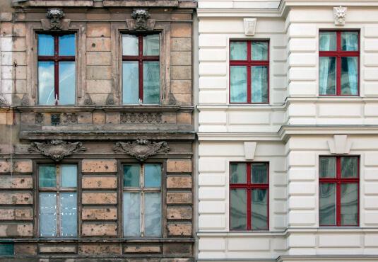 Sprossenfenster historisch