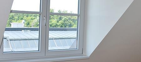Flügelfenster sind funktional und stabil