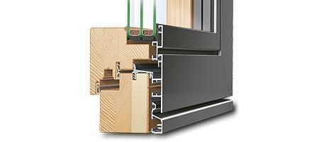 Materil für Verbundfenster