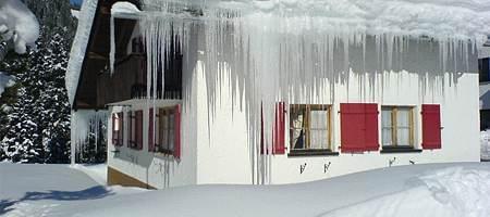 Wärmedämmung von Winterfenster