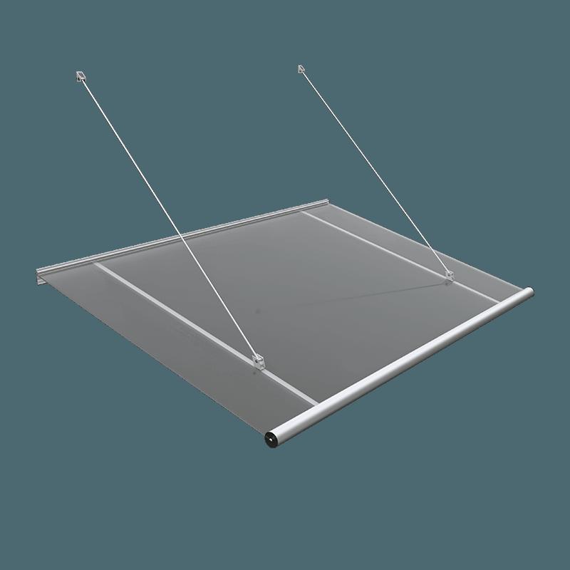 vordach plexiglas acrylglas matt kaufen modell l wenburg. Black Bedroom Furniture Sets. Home Design Ideas