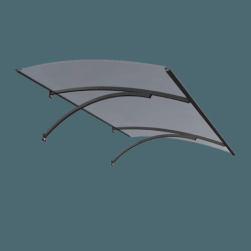 glasdach vordach 120 cm breite glasdach modell bellevue. Black Bedroom Furniture Sets. Home Design Ideas