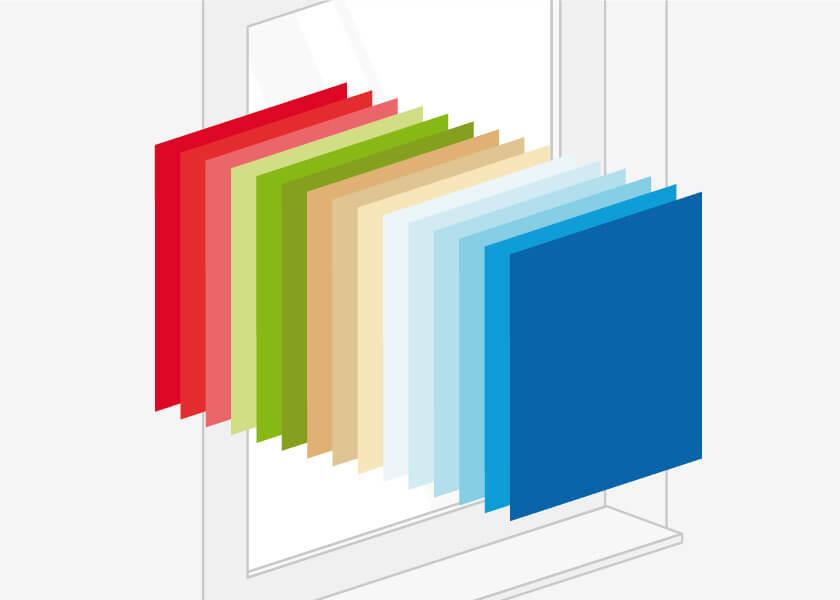 Farben für Holz Nebeneingangstüren