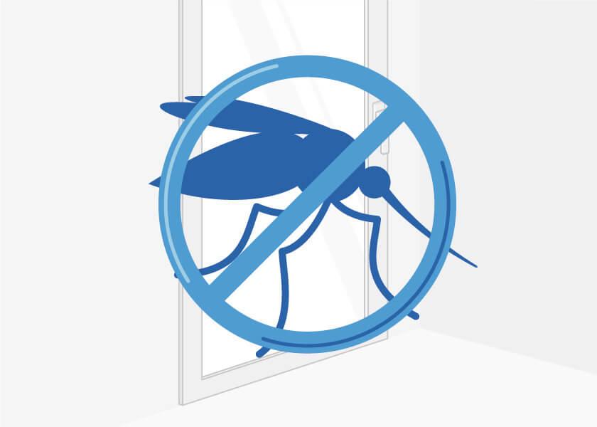 Insektenschutz Balkontür