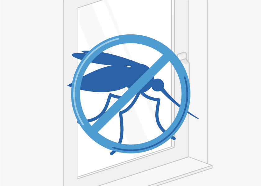 Insektenschutz für Ihren Rollladen