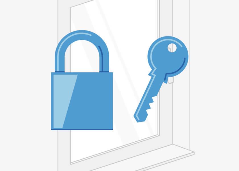 Sicherheit für Haustüren aus Kunststoff