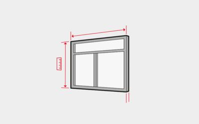 Fenster ausmessen