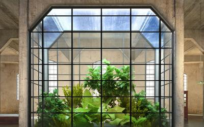 Fensterwand