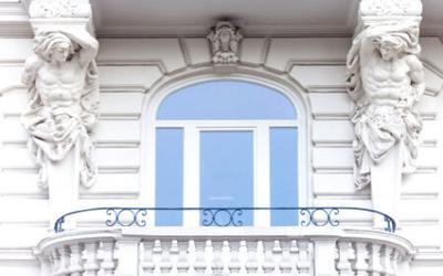 Segmentbogenfenster