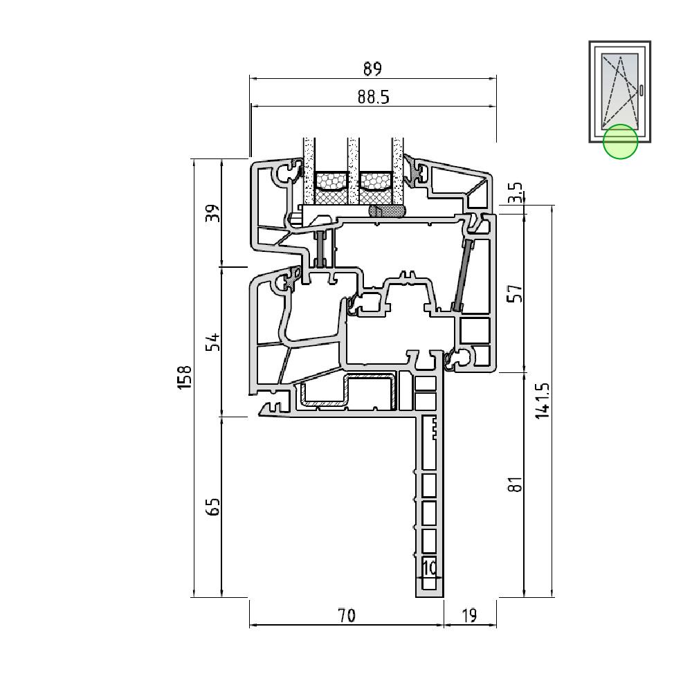 Ideal® Design Renovierungs-/ Wechselrahmen