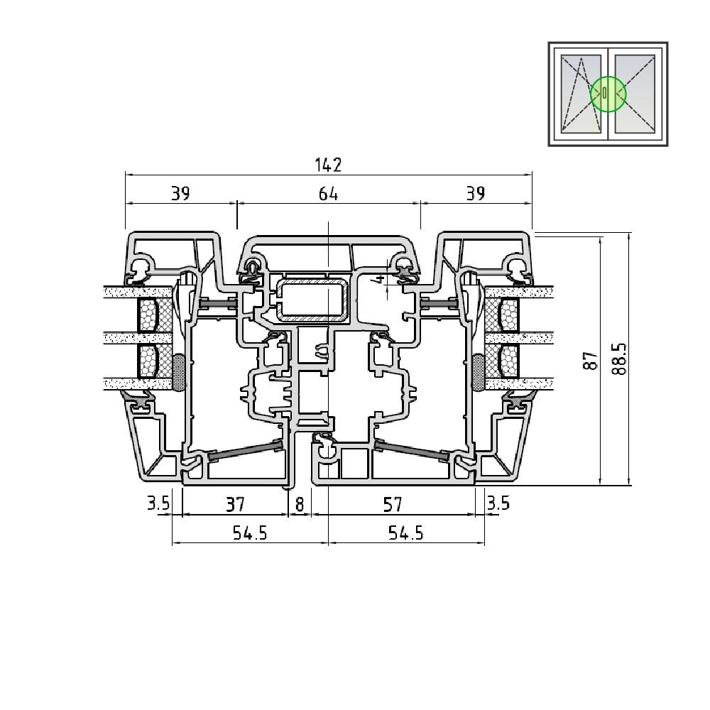 Ideal® Design Stulp Standardgröße