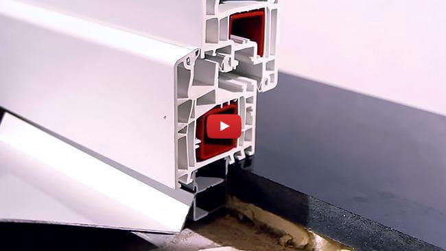 Anleitungsvideo Fensterbankanschlussprofil
