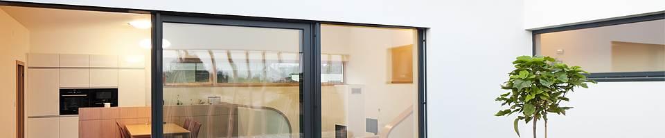 Balkontür Glas