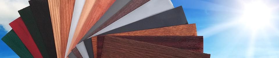 Kunststofffenster holzdekor weiß  Dekorfolie Fenster » Holzdekor Folien für Fenster & Türen