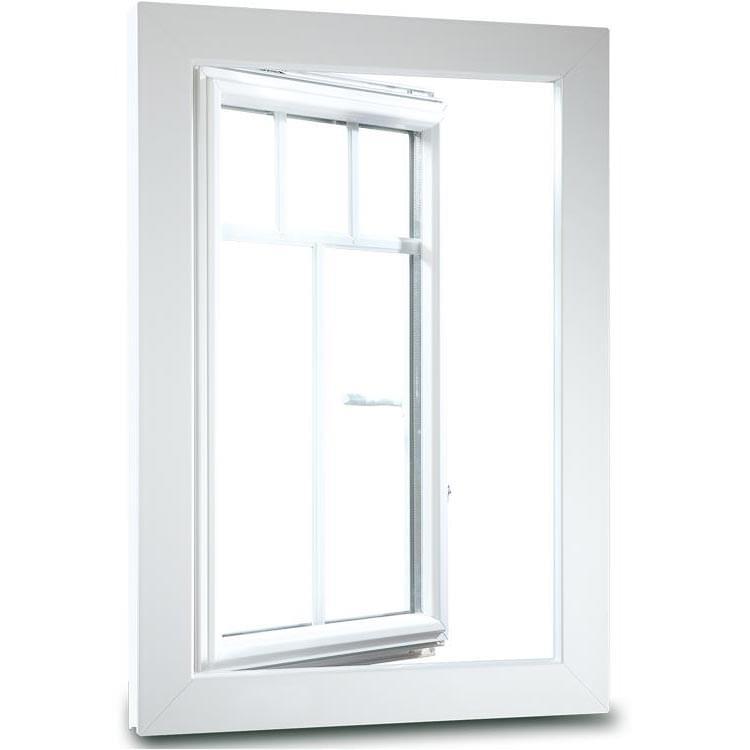 Fenster Frontansicht aluplast 5000