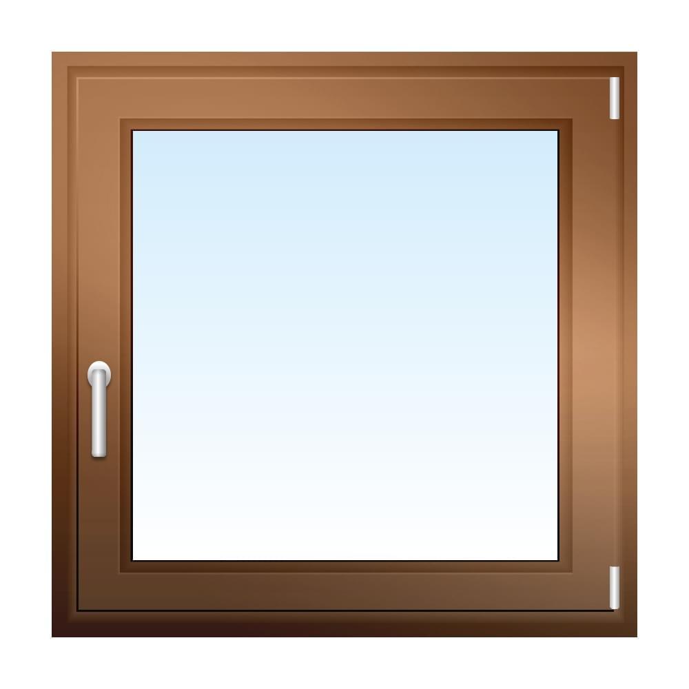 Fenster in Bronze