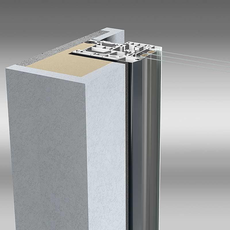 aluplast energeto® view Profil Detailansicht