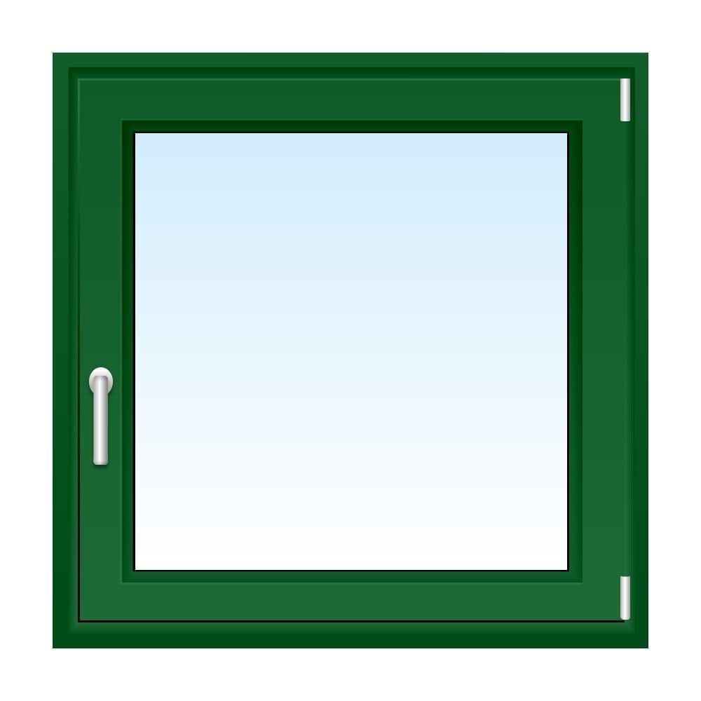 Kunststofffenster gr n nach ma kaufen fensterversand for Holzfenster shop