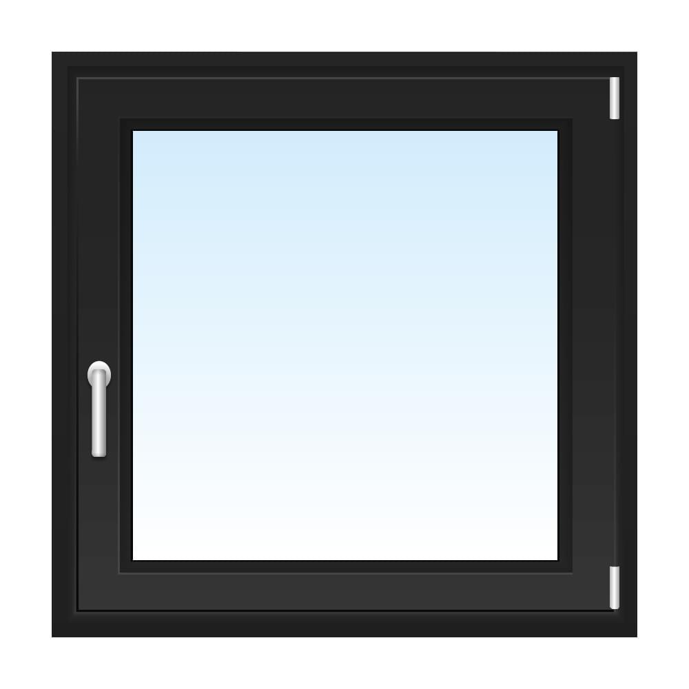 schwarze fenster fenster in vielen farbt nen kaufen. Black Bedroom Furniture Sets. Home Design Ideas