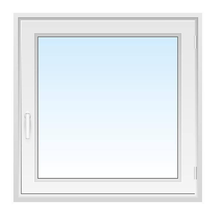 Fenster 100x100 cm bxh g nstig kaufen fensterversand for Fenster 100x100