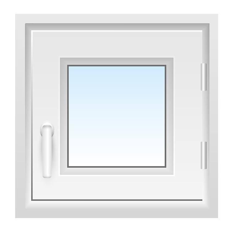 Fenster 50x50 cm