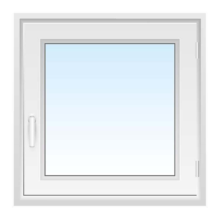 Fenster 80x80 cm