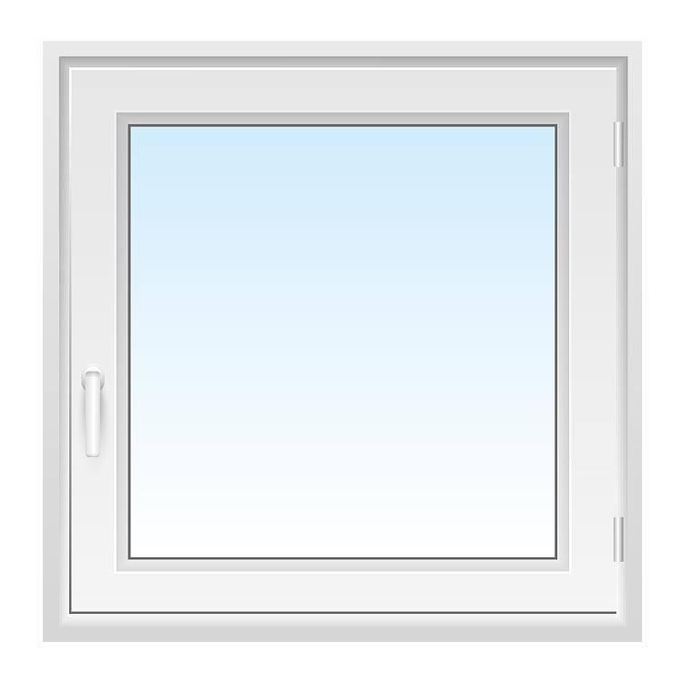 Fenster 90x90 cm