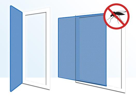 fliegengitter nach ma ohne bohren. Black Bedroom Furniture Sets. Home Design Ideas