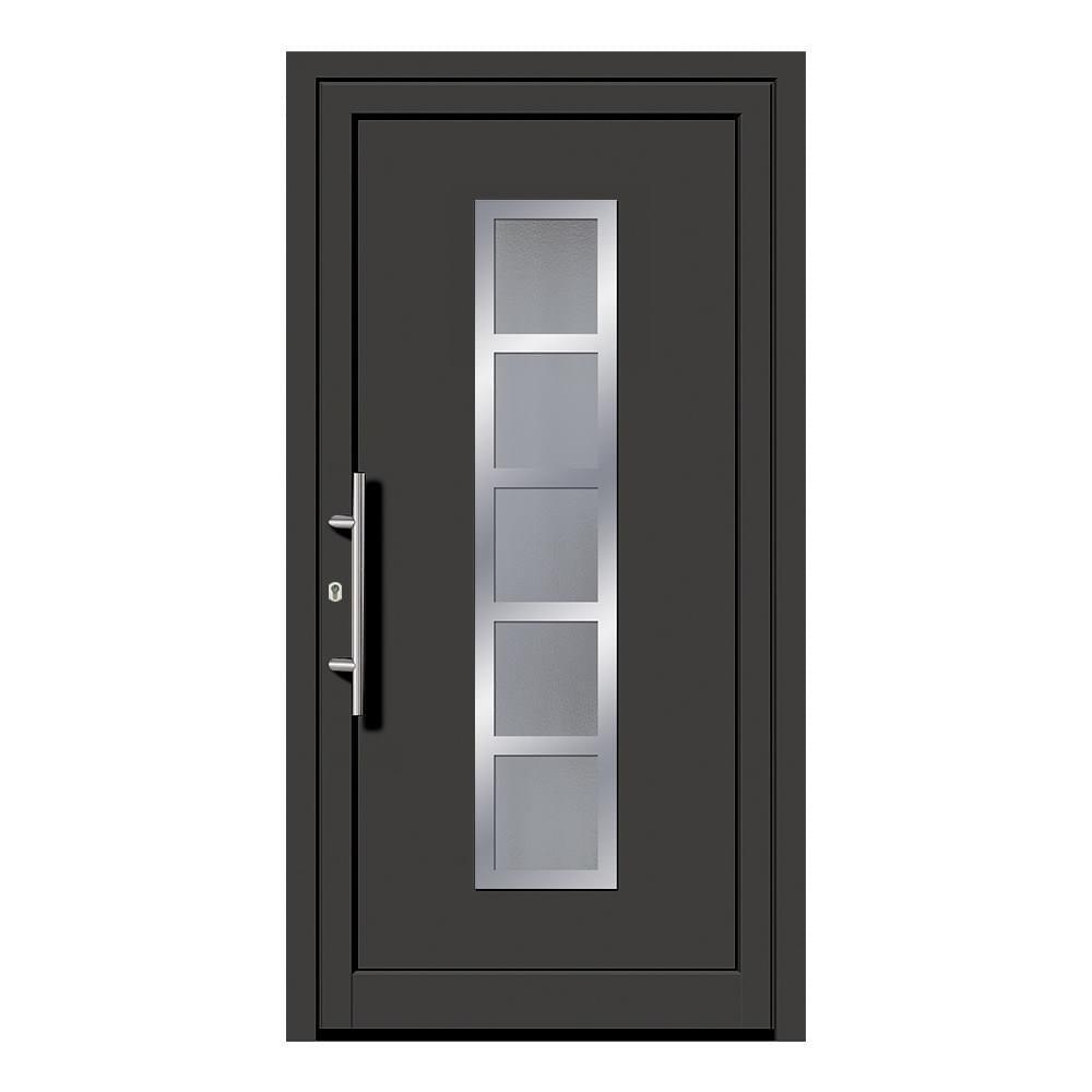 haust r anthrazit kaufen anthrazitgraue nebeneingangst r. Black Bedroom Furniture Sets. Home Design Ideas
