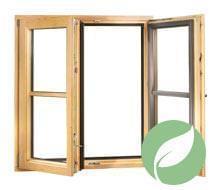 Holz-Alu Fenster Energie