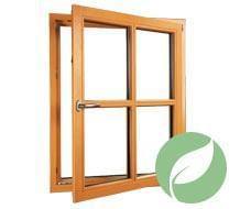 Holzfenster Energie