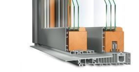 Hebeschiebetür Holz-Aluminium - Idealu