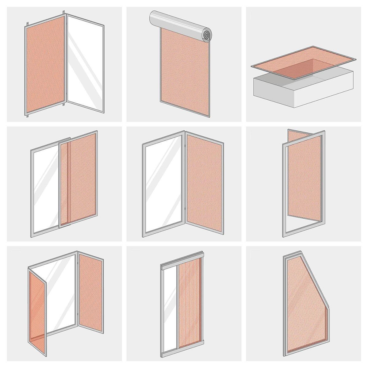 gardinen f r gro es fenster mit balkont r bild das. Black Bedroom Furniture Sets. Home Design Ideas