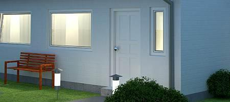 nebeneingangst r aluminium preise ermitteln g nstig bestellen. Black Bedroom Furniture Sets. Home Design Ideas