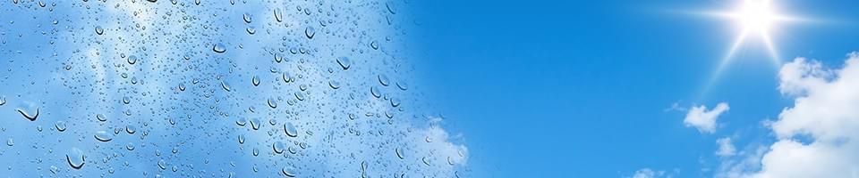 Reinigung durch UV-Strahlung und Wasser