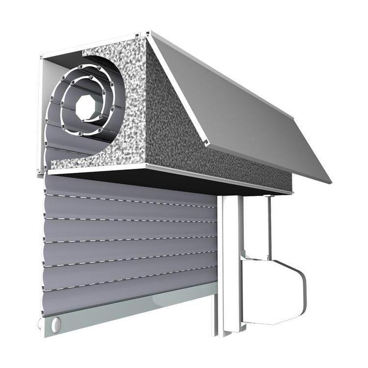 aufsatzrollladen kaufen top mini rollladen f r fenster. Black Bedroom Furniture Sets. Home Design Ideas