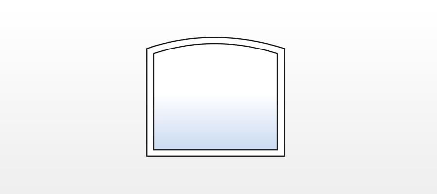 stichbogenfenster g nstig online kaufen fensterversand. Black Bedroom Furniture Sets. Home Design Ideas