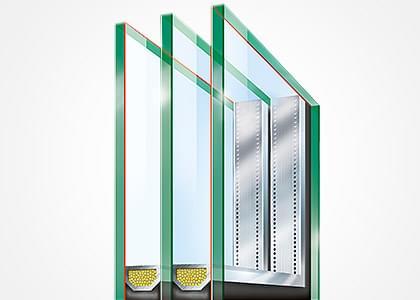 Wärmeschutz Isolierglas