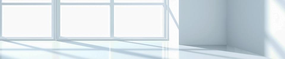 Fenster aus Weißglas